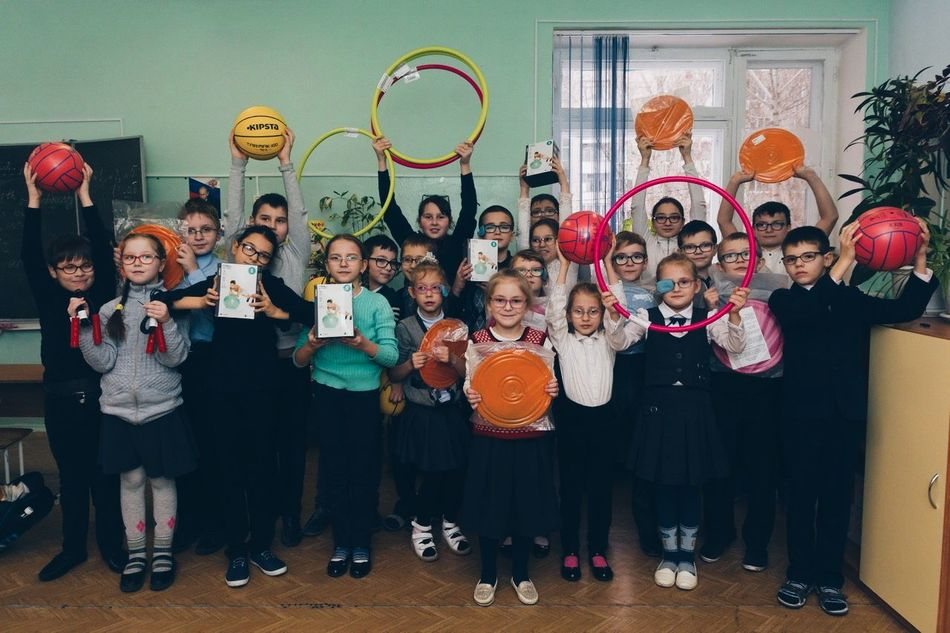 SBERBANK TOGETHER: SPORTS EQUIPMENT IN PRIMARY SCHOOL FOR CHILDREN WITH VISION DISORDERS